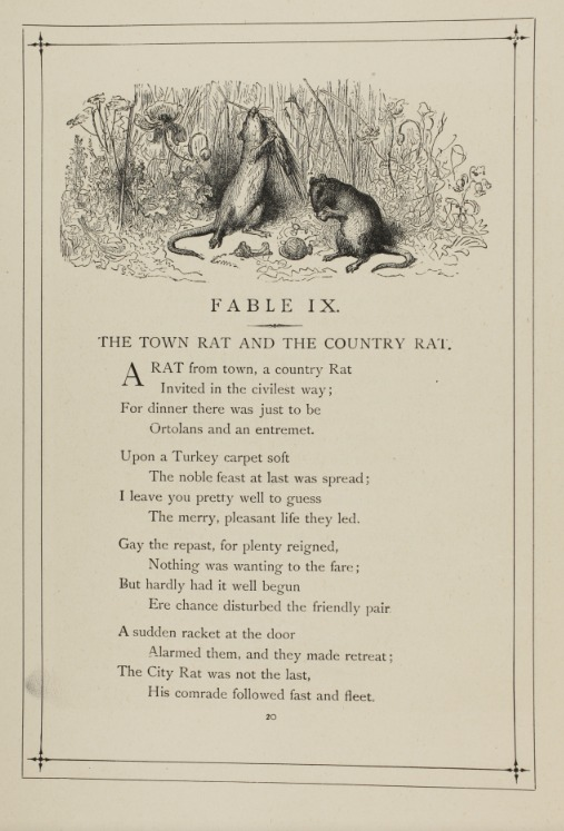 The Fables of Jean de La Fontaine Translated into Verse